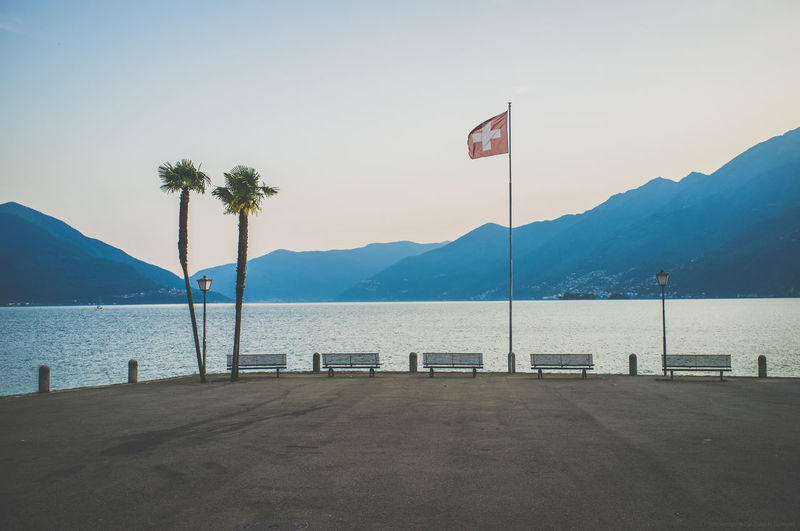 Ascona, Schweiz Ascona Ascona, Ticino, Switzerland Beautiful Boating Clear Sky Europa Europe Flag Holiday Lago Maggiore Lagomaggiore Lake Landscape Outdoor Photography Outdoors Relaxing Sailing Schweiz Street Photography Streetphotography Switzerland Vacation Water Waterfront Watersports