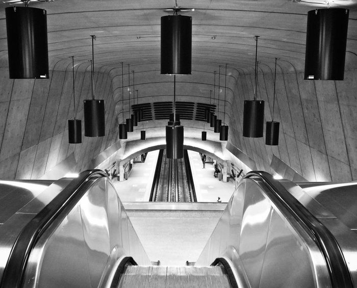 Metro Station Montreal, Canada STM MontrealByDrMartin Architecture Indoor Architecture Radisson Metro Station No People Indoors  Urban Photography Metro Photo Montréal The Architect - 2017 EyeEm Awards TheWeekOnEyeEM