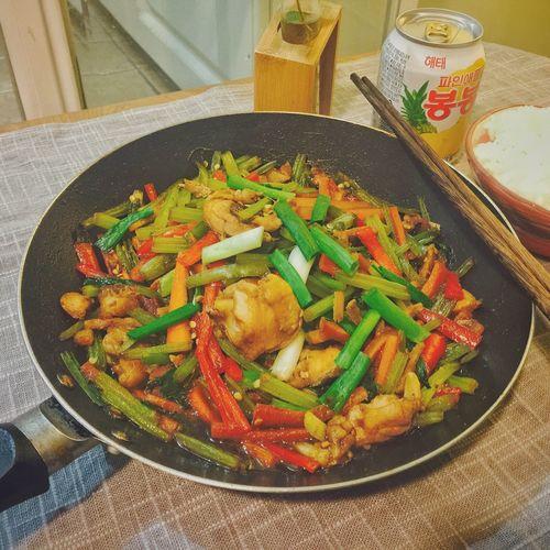【❤️】吃😶 春子私房菜 一个人生活 手机摄影 美食 晚饭 夜宵