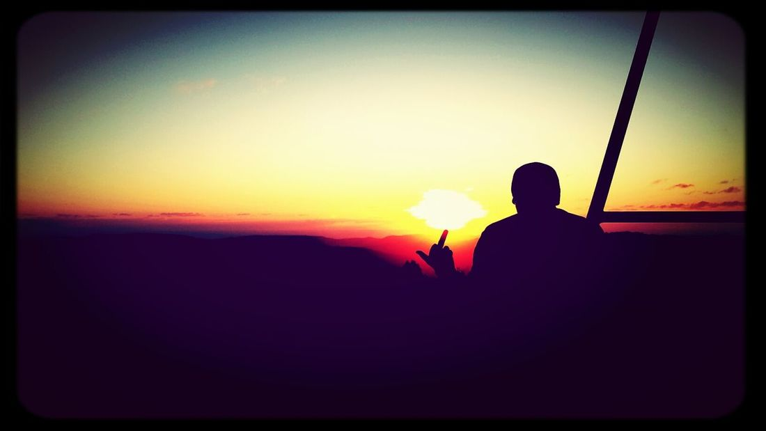 Supersize Yourself With Whitewall Balance Contrast Sunset Silhouettes