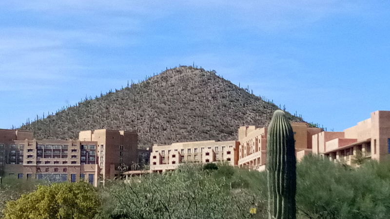 Architecture Building Exterior No People Built Structure History Outdoors Sky Day Desert Plants Beauty In Nature Cactus Mesquite Hillside Tucson Arizona