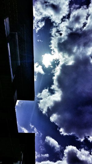 Blue sky Clouds Bhutanese Architecture Bhutan Thimphu