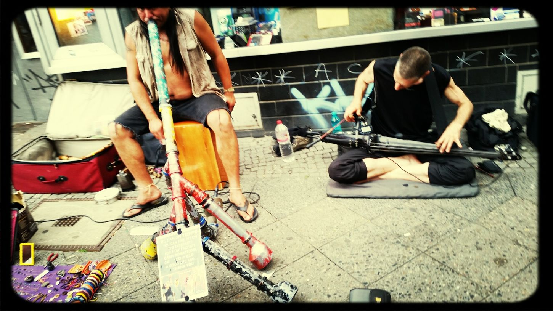 Streetmusician Streetmusic Streetmusicians Mehringdamm