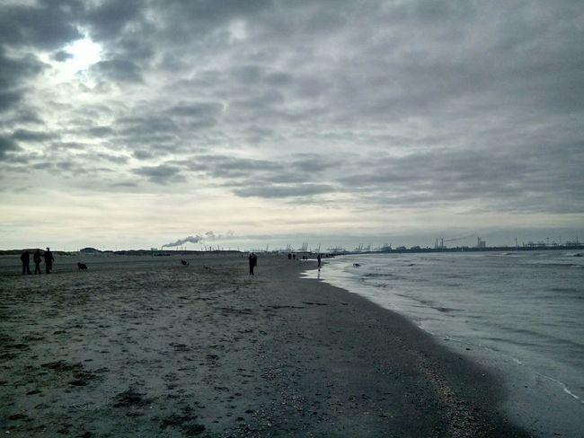 Seaside Beachphotography Clouds And Sky Enjoying Life Autumweather Relaxing Time Hello World