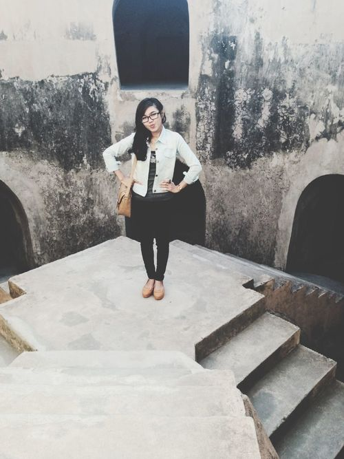Today's Hot Look Beautiful Buildings Black & White Taman Sari - Yogyakarta