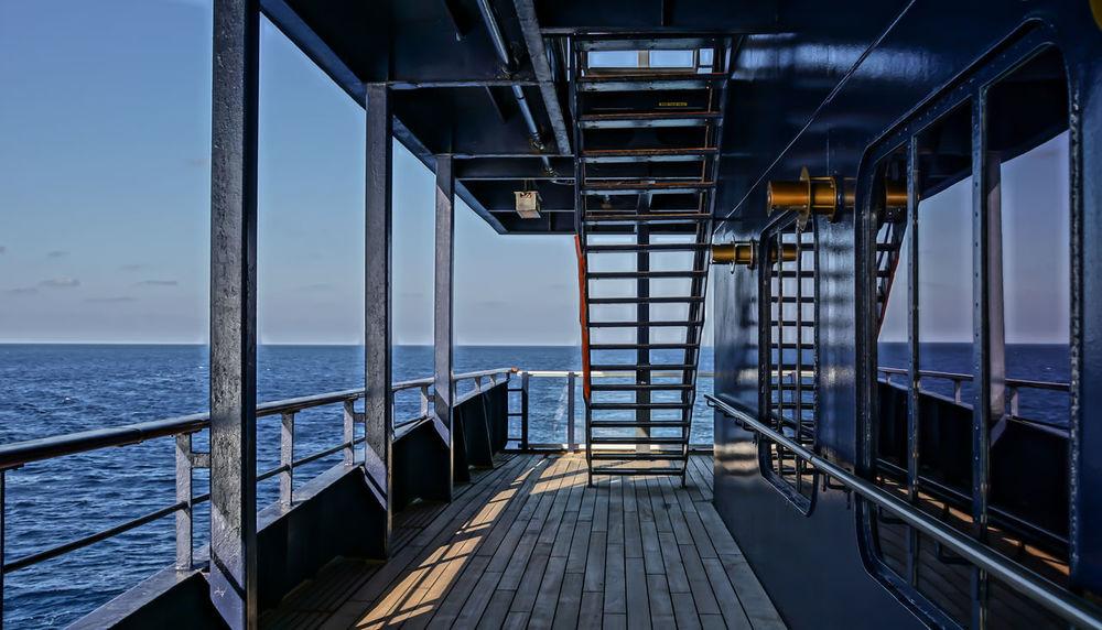 on deck .... Blau Blue Composition Cruise Cruise Ship Cruiseship Cruising Deck Flooring Glass - Material Kreuzfahrt Kreuzfahrtschiff Mittelmeer Ocean Ondeck Perspective Stairs Treppe