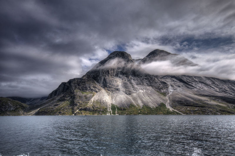 Dramatic landscape from greenland
