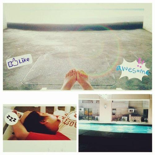 Enjoying summer???? Hahahahha hahahahha!! Summer2014 KuyaVhong