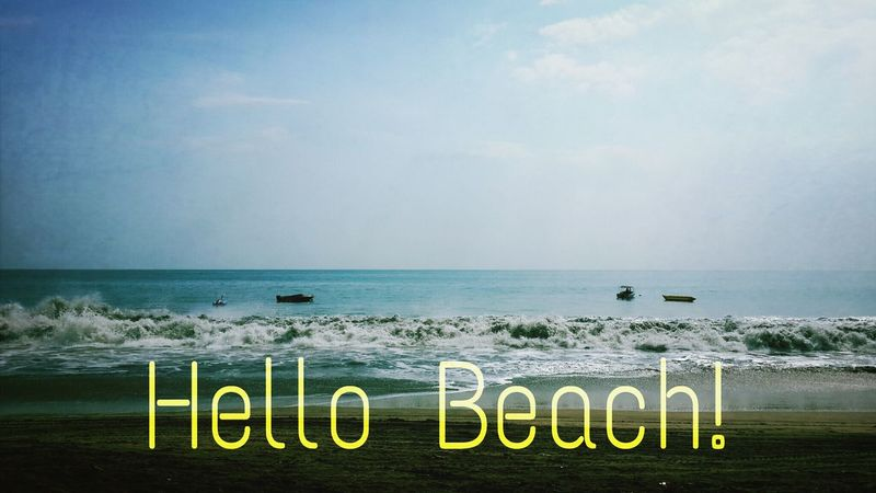 hello beach! Beach Summer First Eyeem Photo Eyeemphotography
