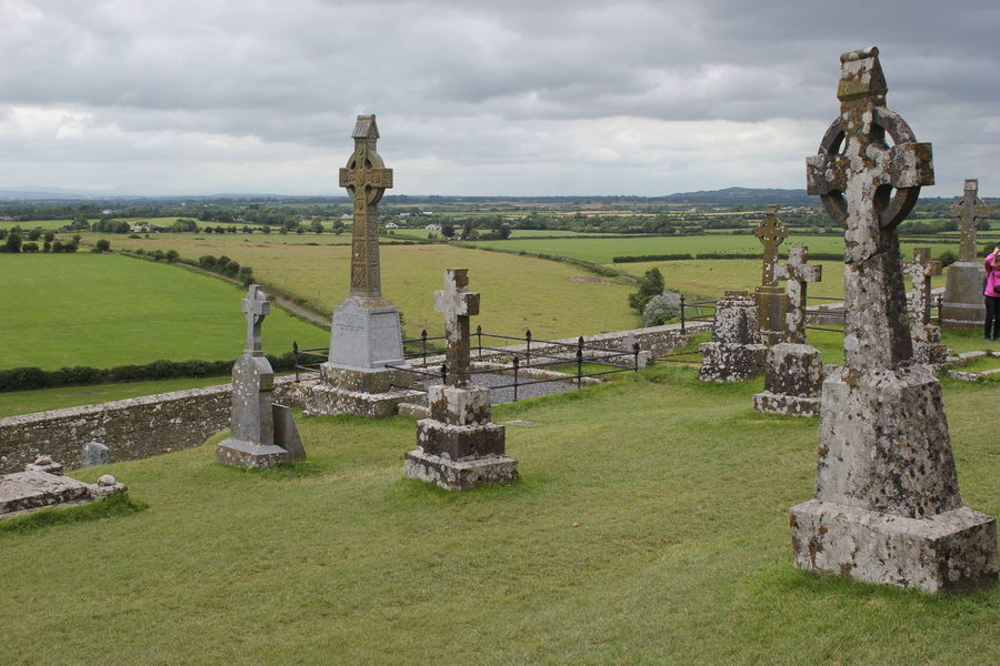 Cathedral Celtic Cemetery Day Grass Ireland Ireland🍀 Outdoors Rock Of Cashel
