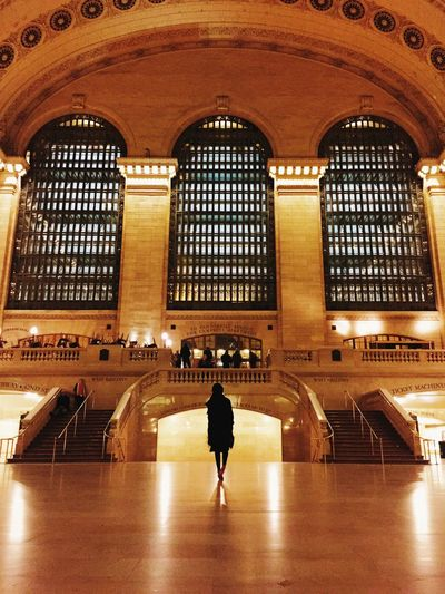 Grand Central Terminal Icon Landmark Pure Gold Architecture Silhouette New York City IPhoneography Lot71camera The Architect - 2015 EyeEm Awards