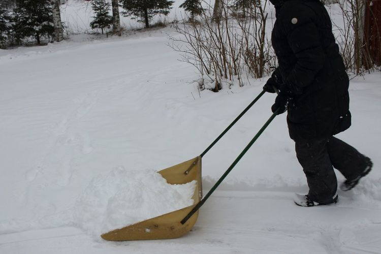 Snowshoveling Snowy Snow Day Winter Finland Helping Hand Hardwork Wintertime Winter Day Winterfun Helping Out SledShovel TooMuchSnow