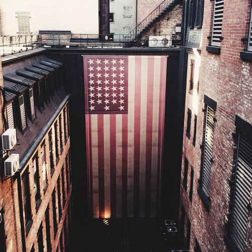 Americana Flag Patriotic Patriotism USA America Manhattan New York Secret Places