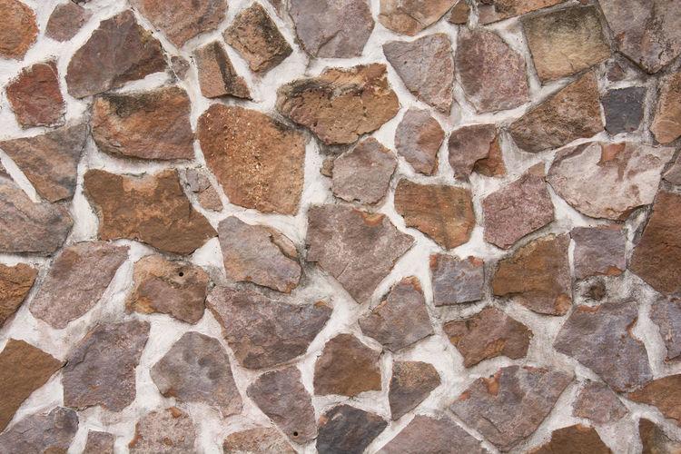 Full frame shot of stone wall