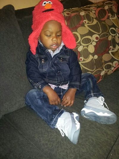 my baby cousin mean the world to me my main man <3