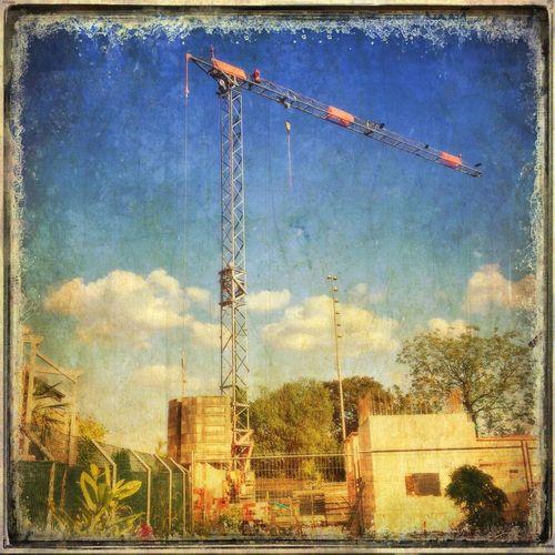 Old crane Cranes EyeEmSwiss Old Construction