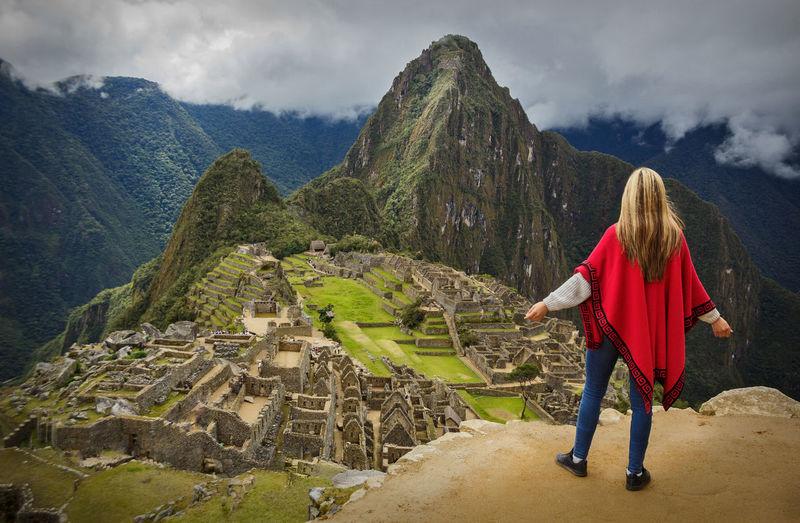 Photo taken in Machu Picchu, Peru