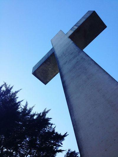 San Francisco Cross Sculpture