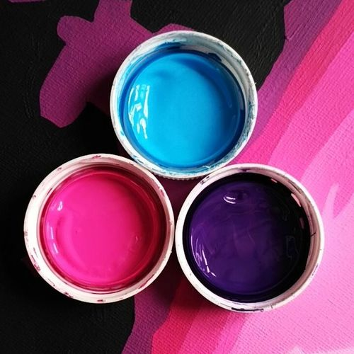 Drawing Multi Colored Pink Color Purple No People Colors Neon Acrylic Painting Acryl Freon Fairy Draw Painting Popart Art