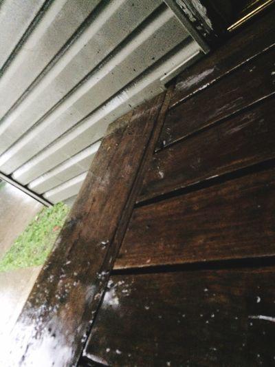 Rain Outdoors Storm Wood - Material Close-up Water