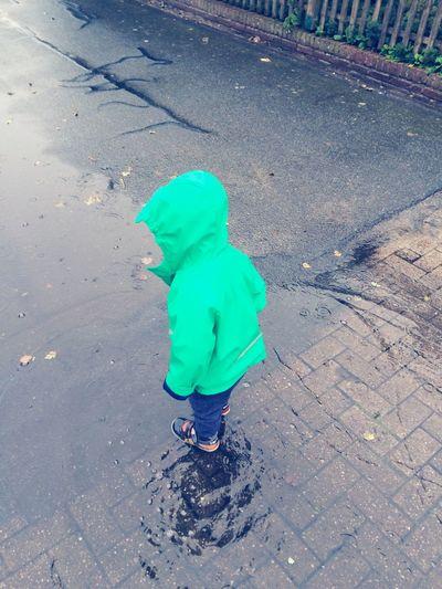 Auch im Regen kann man tanzen :)