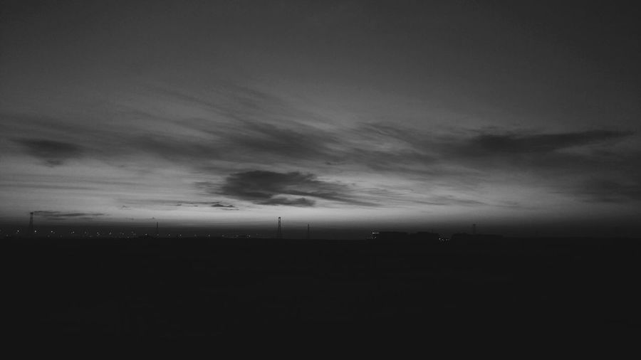 Breaking Dawn Dawn Of A New Day Dawn Sunrise Sunrise_Collection Black And White Eyeem Philippines Lgv20photography Doha,Qatar Horizon Sky Landscape Cloud - Sky Dramatic Sky Romantic Sky Cloudscape Stratosphere Cumulonimbus Atmospheric Mood Wispy Moody Sky Silhouette