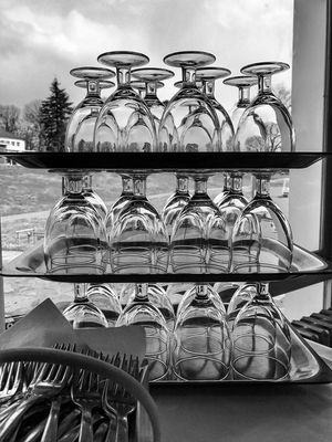 Glasses Tower - Time to eat and drink 😀 Creps IDF Suburb of Paris France Photooftheday Refection Moment Snapseed Outofthephone Mobilephotography Iphonephotography EyeEm IPhoneography IPhoneography Iphoneonly Iphonographie Blackandwhite Bnw Iphonephotooftheday Must See Visual Feast