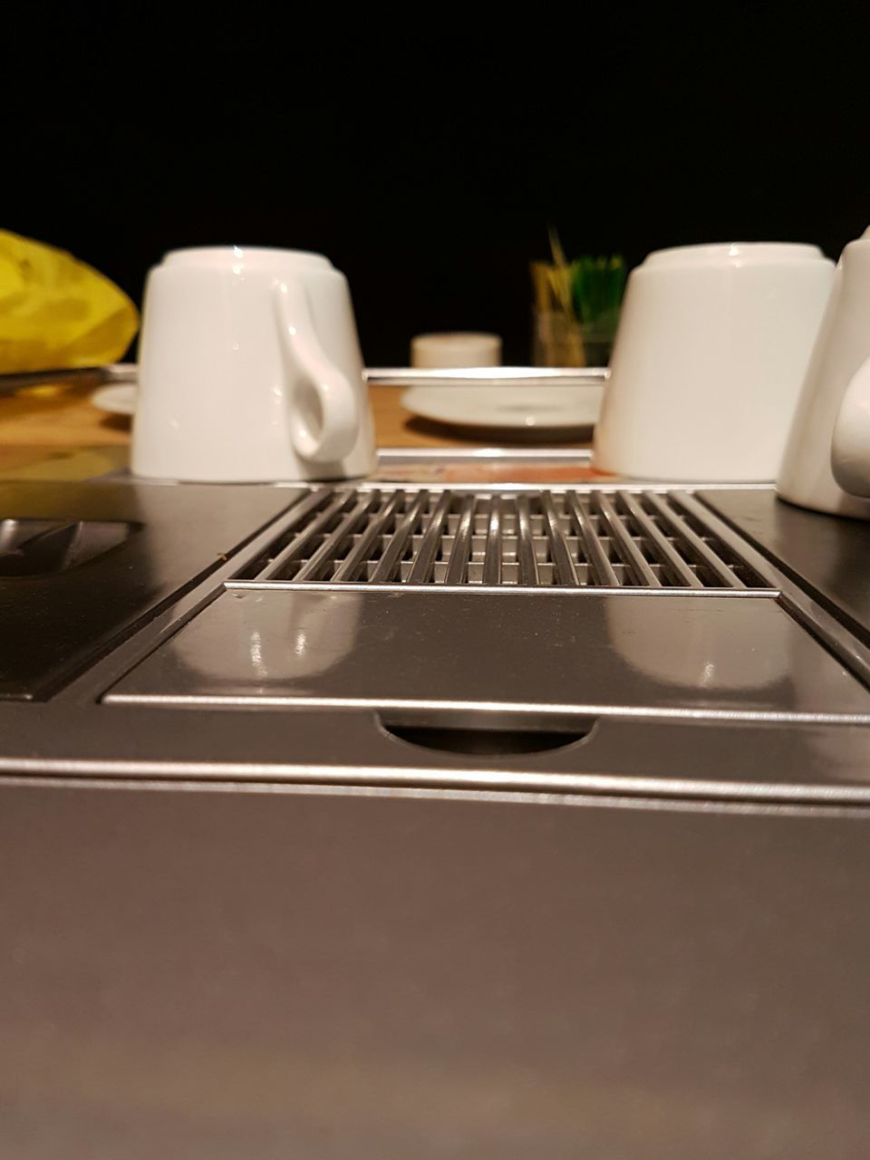 indoors, no people, table, wireless technology, fork, technology, plate, close-up, keyboard, day