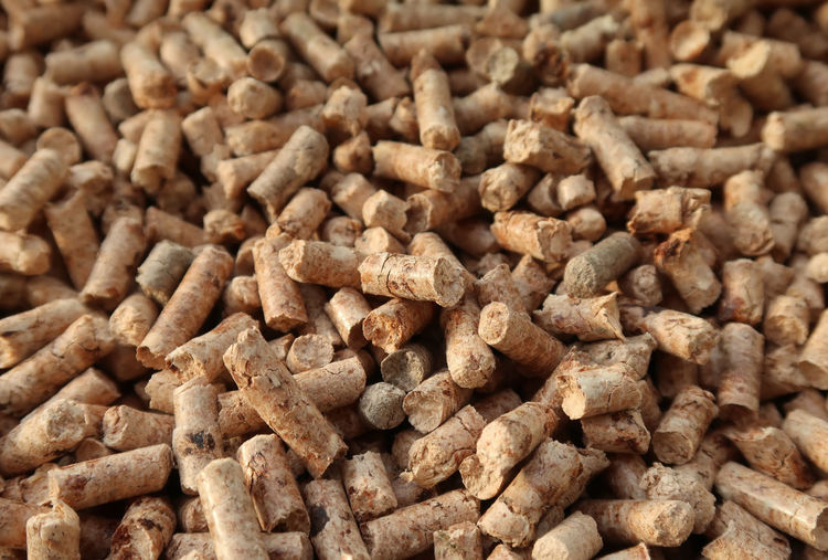 Pellet granules Eco Industry Pressed  Winter Biomass Close-up Ecological Ecology Energy Fuel And Power Generation Fuel Station Granulated Granule Granules Heating Pellet Pellets Pile Recycled Recycling Renewable Energy Savings Sawdust Wood - Material Wooden