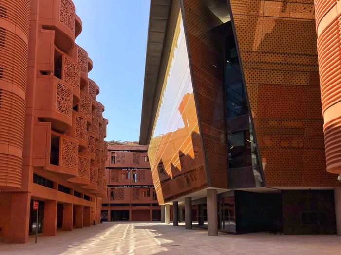 Masdar City in