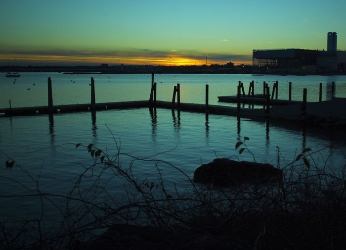 Sunset s Silhouette Salem, Ma.