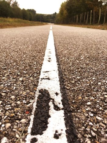 On The Road Road Asphalt Lines Perspectives