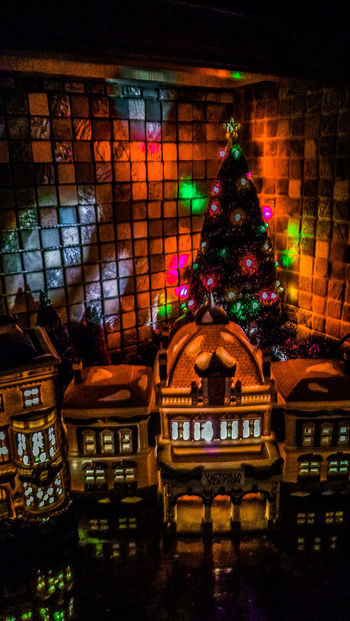 Christmas Photography Holiday Photography Christmas Village Christmas Town Multi Colored Night Christmas Decoration Christmas Illuminated EyeEm Ready   Shades Of Winter