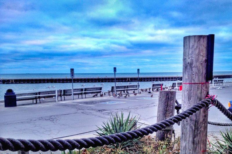 Blue Horizons IPhoneography Harbour Shoreline Portdover