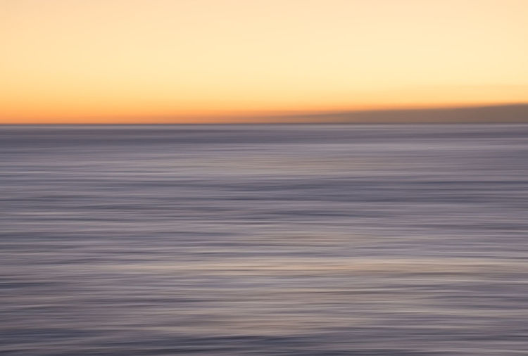 Impressions of the ocean Sunset Sea Beach Nature Beauty In Nature Horizon Over Water Scenics Dramatic Sky Outdoors Landscape Orange Color Sky Tranquil Scene Idyllic Water Tranquility Environment Sunlight Horizon Dusk Abstract Pan Impressionism Perspectives On Nature