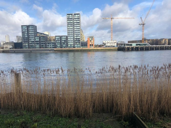 The Thames, London 🇬🇧 London Sky Cloud - Sky Architecture Water Built Structure Building Exterior No People Waterfront Cityscape Reflection Nature City