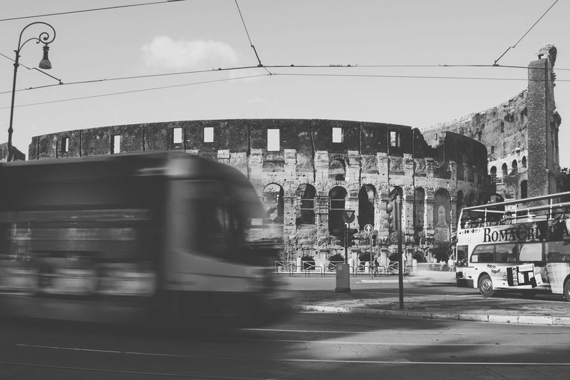 Rome Italy Colosseo The Colosseum, Rome Loveitaly Blackandwhite Siteseeing