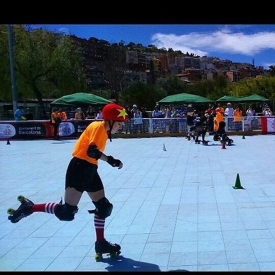 RodaBarcelona The Great Festival Of Roller Skating Activities And Exhibitions Aimed At Promoting The Firs World Roller Games Of Barcelona 2019