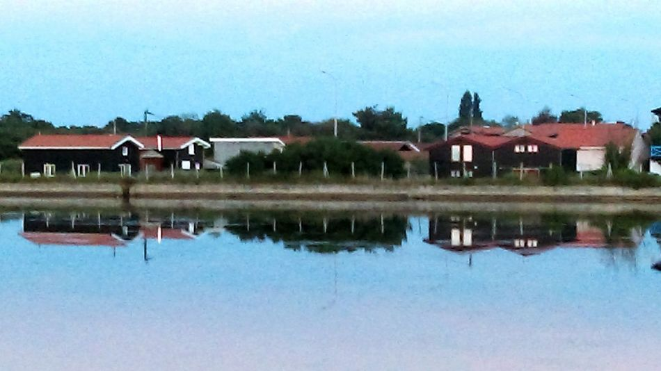 Reflection Water House No People Nature Sky Relaxing Moments