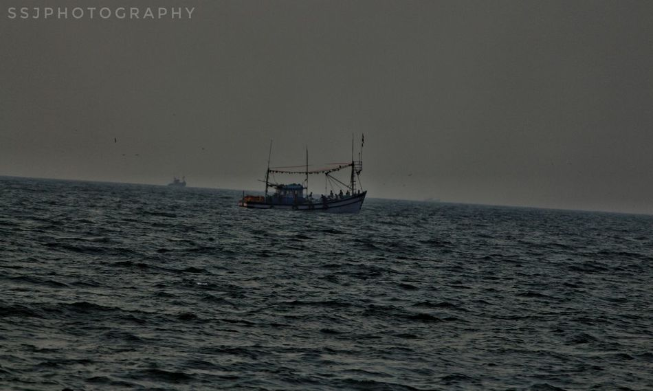 Sea Nautical Vessel Horizon Over Water Fishing Social Issues No People Business Finance And Industry Outdoors Day Water Nature Tall Ship Sunken Oil Pump