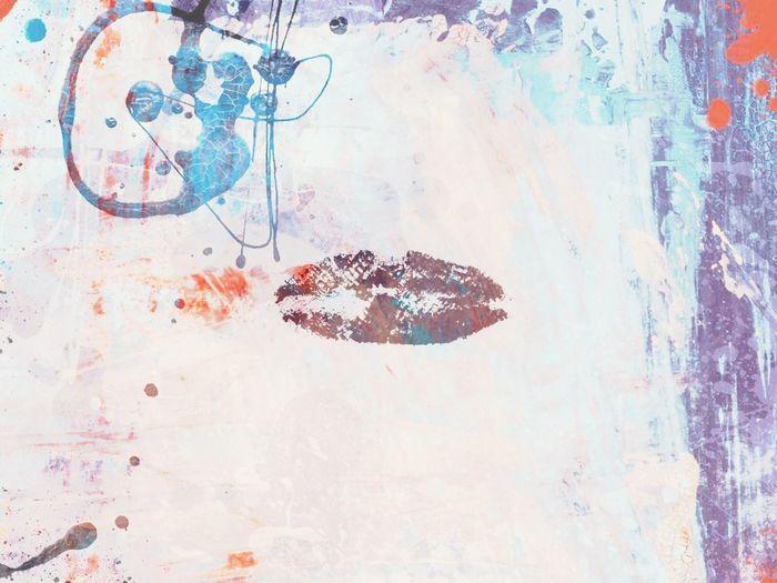 """Kiss Me Michael"" My love. My heart and soul Lips , graffiti , photography 822053"