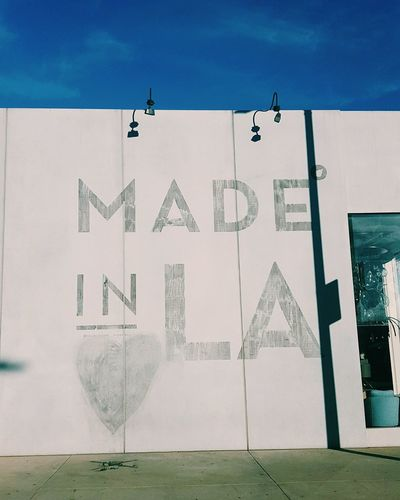 Los Angeles, California Made In LA Street Art West Hollywood