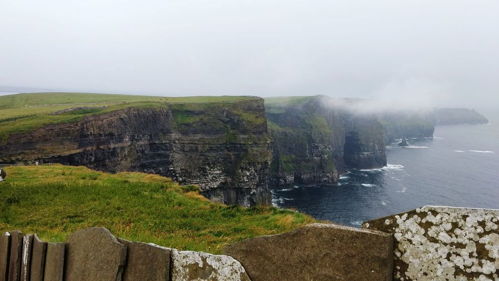 Cliffs Of Moher  Ireland🍀 Lanscape Photography No People Green Nature Sky Water Sea
