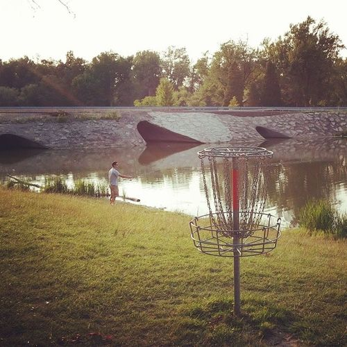 Hole 15 at Ellicott Creek Discgolf Discgolfbasket