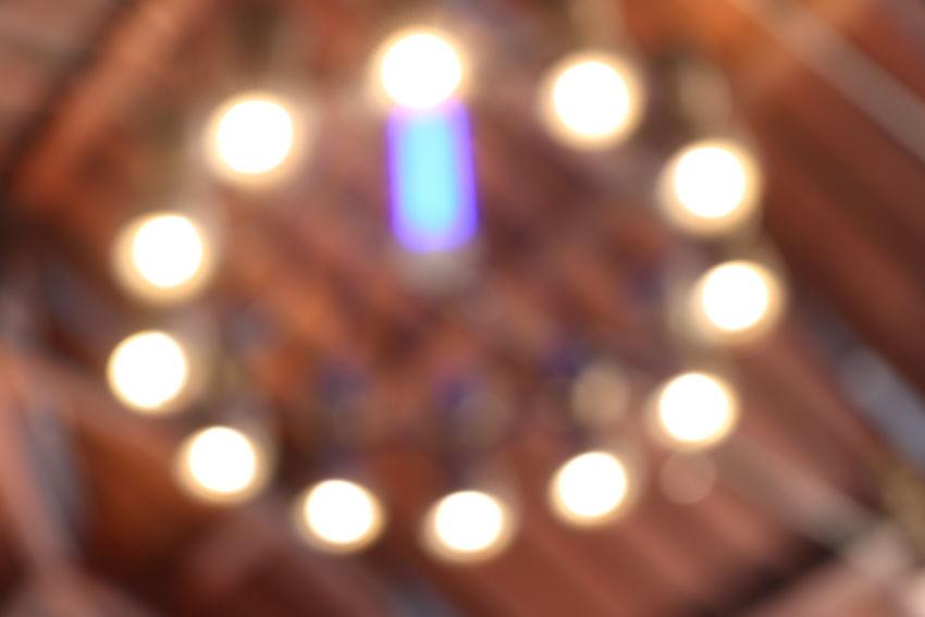 Illuminated Backgrounds Defocused Full Frame Nightclub Lighting Equipment Close-up