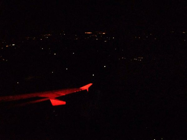 I got the Flashing  Red Light of the Airplane