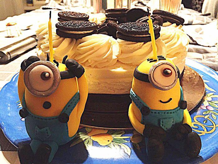 my Minions cake 👉🏻💛😋