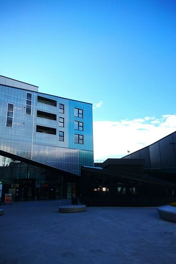 Architecture Built Structure Business Finance And Industry Building Exterior City Sky Cloud - Sky No People Outdoors Day Color Photography Nature Photography Norway Blue Nature_collection Nature's Diversities Bergen,Norway Urban Architecture Urban Nature Urban Adapted To The City Architecture Blue Sky Naturelovers Beauty In Nature