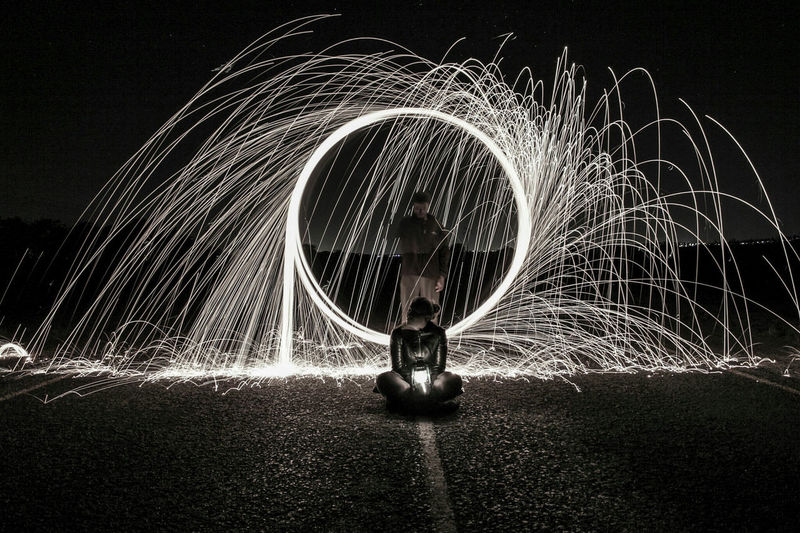 Let the light in... Circle Motion Long Exposure Night Outdoors Wire Wool Real People Steet Photography Steelwoolspinning Portrait Nightphotography Faces Of Africa Change Your Perspective Faces Of EyeEm South Africa The Great Outdoors - 2017 EyeEm Awards The Street Photographer - 2017 EyeEm Awards My Best Photo Humanity Meets Technology Springtime Decadence