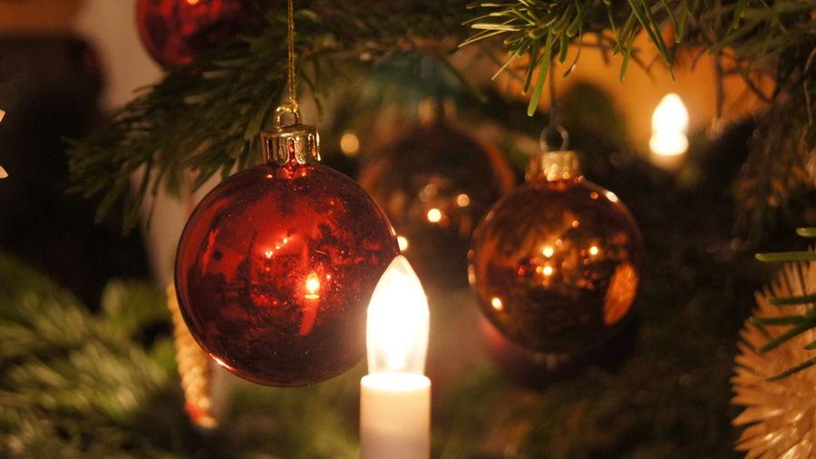 Front Christbaumschmuck Christmas Christmastree Decoration Kugel Light Weihnachtsbaum Weihnachtsmarkt
